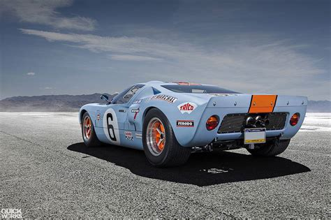 gulf gt40 photo of the day stunning gulf ford gt40 gtspirit