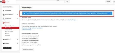 Cara Mudah Mendaftar Google Adsense Melalui Youtube | cara mudah mendaftar google adsense melalui youtube