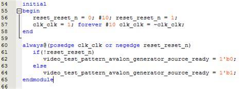test pattern generator qsys 关于test pattern generator ip核的测试 沉默改良者 博客园