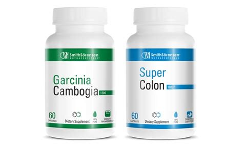 Asian Garcinia And Colon Detox by Garcinia Cambogia Supplements Groupon Goods