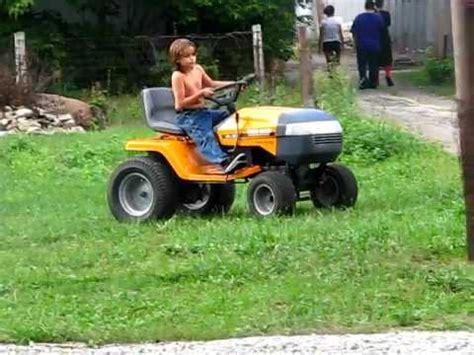 backyard king my 1999 yard king garden tractor youtube