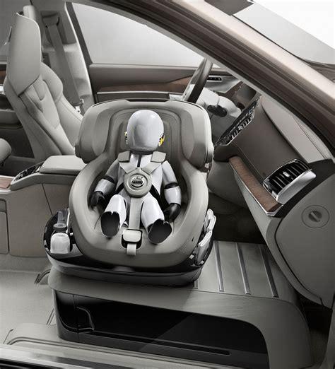 volvo unveils xc excellence child seat concept