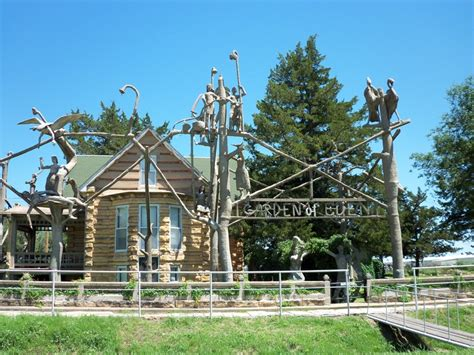 Garden Of In Lucas Kansas 74 Best Images About Roadside Attractions On
