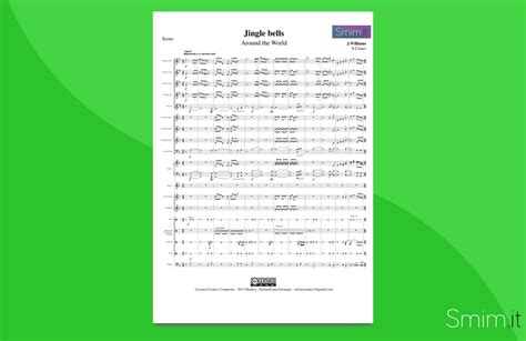 testo di jingle bells jingle bells partitura per orchestra scolastica