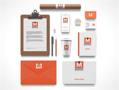 branding layout free download branding identity psd mockup flat 2d corporate stationery