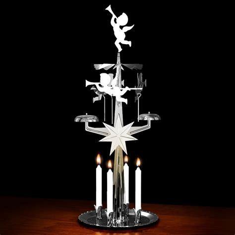 silver angel chimes original swedish christmas