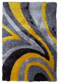 Gray And Yellow Kitchen Rugs Authentic Grey Yellow Tufted High Quality Shag Rug Gray Yellow 8 X 11 Ft Contemporary