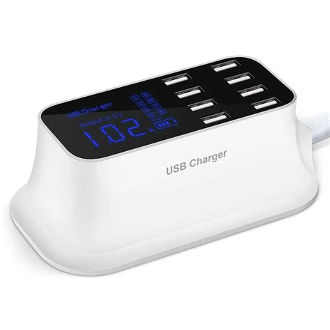 Usb Charger 8 Port Universal 8 Port Usb Charging Station Loyal Products