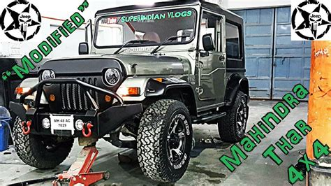 indian jeep modified how to get mahindra thar jeep modified in india best