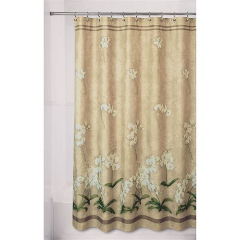 Shower Curtains Kmart by Essential Home Shower Curtain Emily Fabric