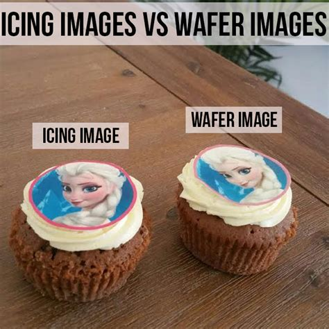 should i use wafer paper or icing sheets topperoo