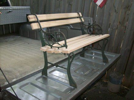 childrens park bench re build of 2 childrens park benches by texasnick