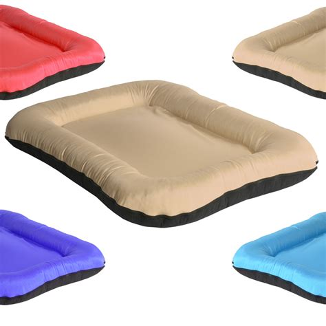 beds direct square beige 1 dog bed new pet beds direct