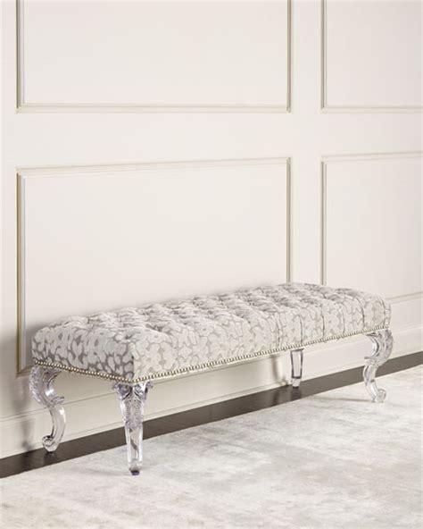 acrylic legs for bench massoud regis acrylic leg bench