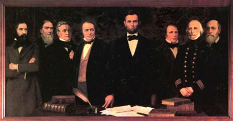 Abraham Lincoln Cabinet Members List by The Joseph Henry Papers Project