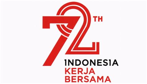 kemerdekaan indonesia indonesia launches 72nd independence day logo and theme