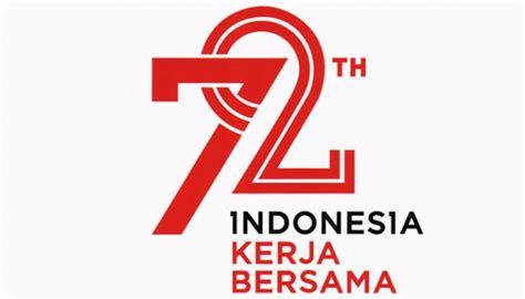 tahu makna logo hut   kemerdekaan indonesia
