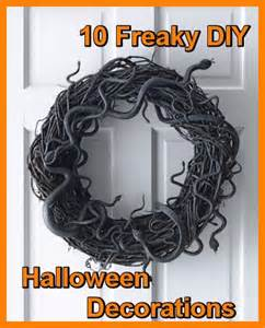 Scary Halloween Decorations To Make At Home by Ten Epic Diy Halloween Decorations Sure To Make Guests Freak
