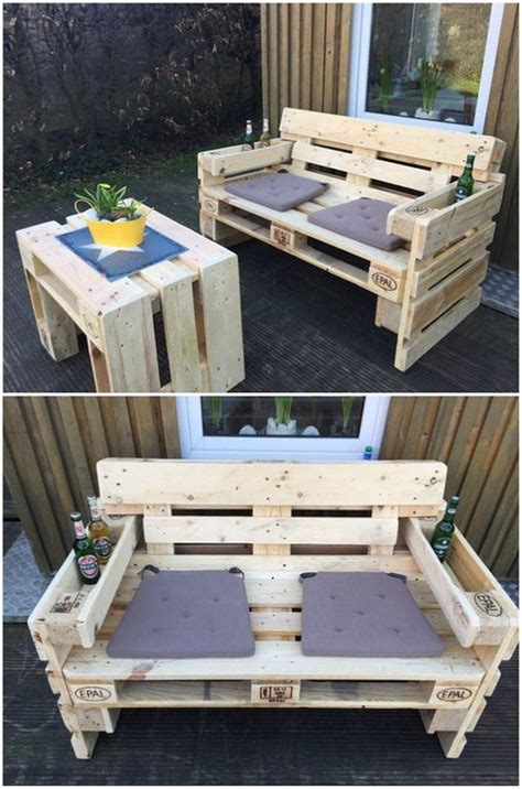 Wonderful Pallet Wood Furniture Ideas That Are Easy To Wooden Pallet Outdoor Furniture