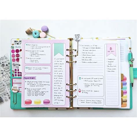 make every day a weekly planner for creative thinkers with techniques exercises reminders and 500 stickers to do books best 25 daily planner pages ideas on planner