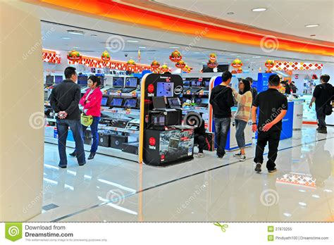 best electronic shop fortress electronics store in hong kong editorial image