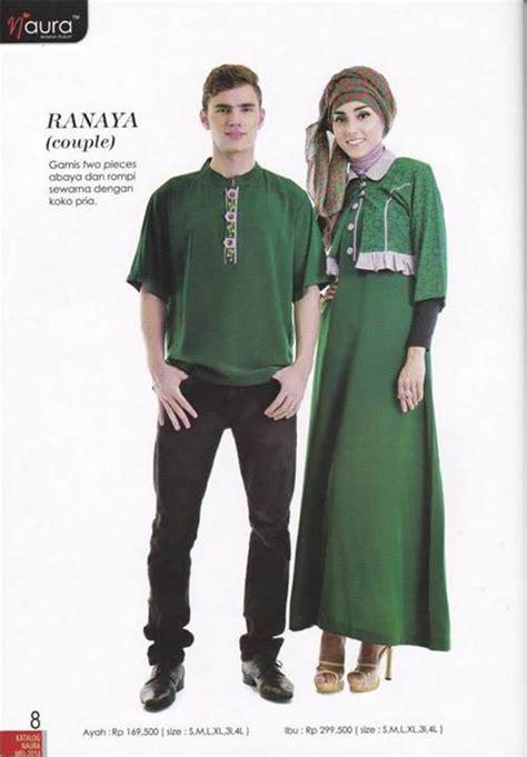 Gamis Terbaru Naura ranaya by naura baju muslim gamis modern