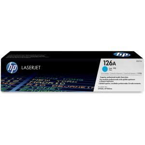 HP CE311A #126A Toner Cartridge   Cyan, 1000 Pages