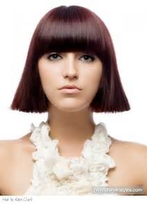sharp haircuts medium sharp bob hair style