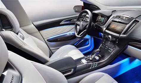 2014 Ford Edge Interior Pictures by 2014 Ford Edge Suv Concept Details Machinespider