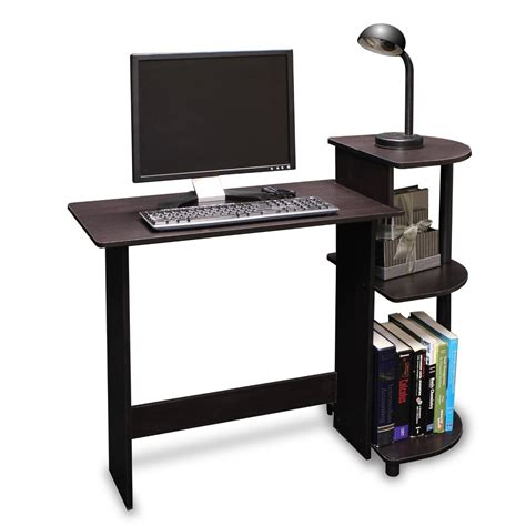 Small Office Computer Desk Space Saving Home Office Ideas With Ikea Desks For Small Spaces Homesfeed