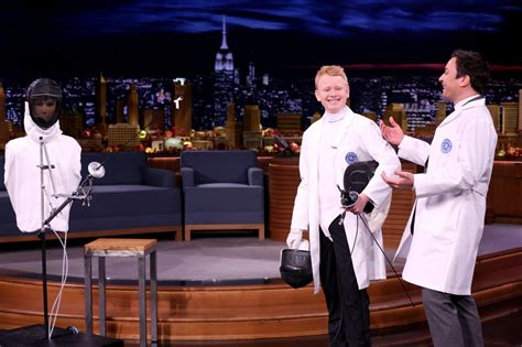 leslie mann interview jimmy fallon machine gun kelly camila cabello perform quot bad things quot on