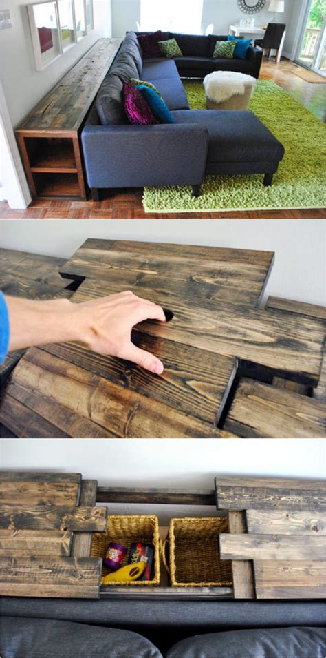 young house love sofa table utilize the space behind the sofa with 15 diy sofa tables
