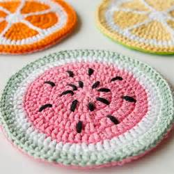 Preview for how to crochet tutti frutti potholders