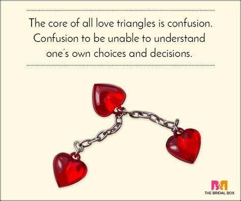 theres some scandalous love triangles going in the nfl that you 10 love triangle quotes that prove polyamory is no joke