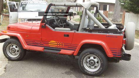 Jeep Island 1989 Jeep Wrangler Islander Sport Utility 2 Door 4 2l