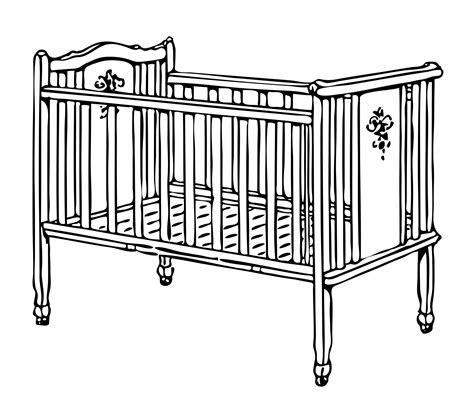 baby crib clip crib cot illustration clipart free stock photo