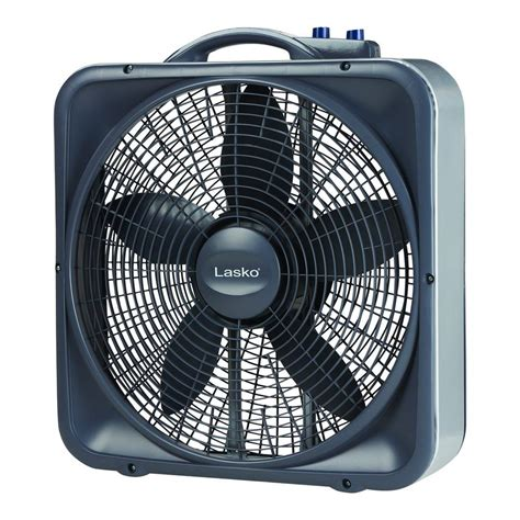 lasko 20 box fan lasko weather shield select 20 in 3 speed box fan with