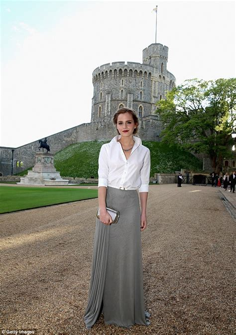 emma watson charity emma watson ditches the glamour morning after charity