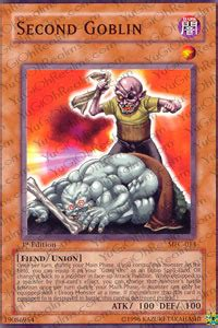 Kartu Yugioh Second Booster Common second goblin mfc 013 common unlimited edition