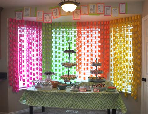 Paper Chain Decorations by Paper Chain Decor Decorating Favors