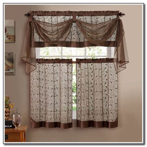 Kitchen Curtains Sets Kitchen Curtain Sets Clearance Kitchen And Decor