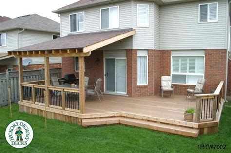 ideas for covered back porch on single story ranch simple covered deck house inspiration pinterest the