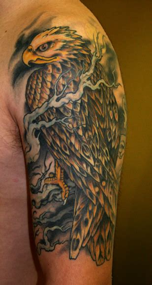 hawk tattoo pinterest hawk tattoo ideas
