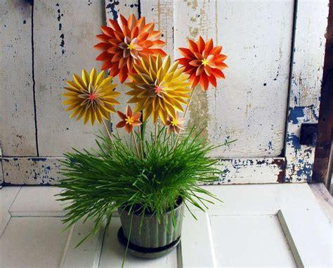 fiori con origami origami per pasqua foto tempo libero pourfemme