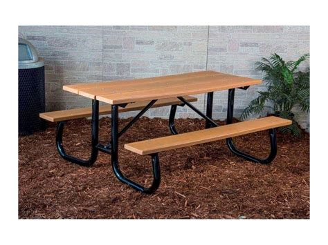 heavy duty plastic picnic tables 6 ft heavy duty recycled plastic picnic table with welded