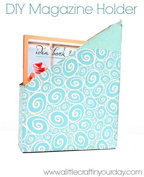 diy magazine crafts diy magazine holder a craft in your day