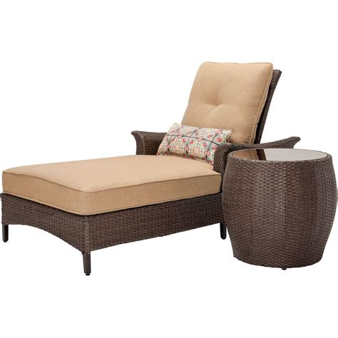 patio chaise lounge cushions hanover gramercy 2 piece patio chaise lounge set with