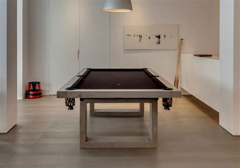 outdoor concrete pool table design daily dewulf concrete pool table