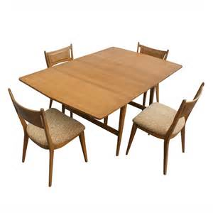 Dining Table Leaf 7ft Heywood Wakefield Drop Leaf Extension Dining Table