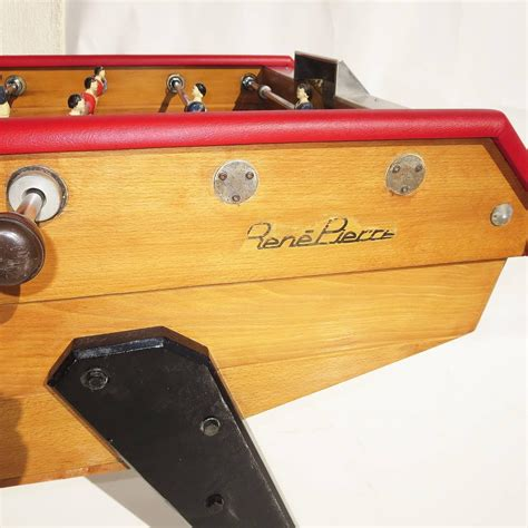rene foosball table mid century foosball table by rene for sale